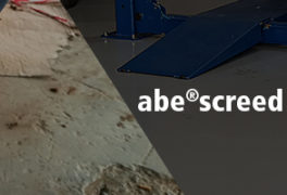 abe ® screed SLC P | a b e ® Construction Chemicals