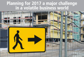 Planning for 2017 a Major Challenge in Volatile Business World