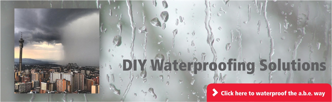 DIY Waterproofing Solutions | a.b.e. Construction Chemicals