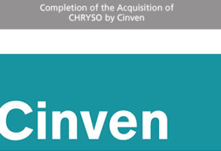Completion of the Acquisition of CHRYSO by Cinven