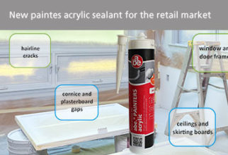 New painters acrylic sealant for the retail market