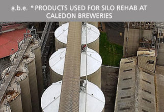 a.b.e. Products used for silo rehab at Caledon Breweries