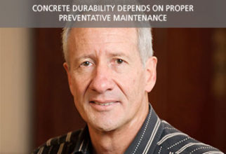 Concrete durability depends on proper preventative maintenance