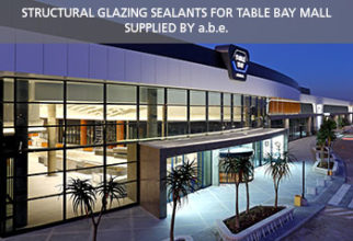 Structural glazing sealants for Table Bay Mall supplied by a.b.e.<sup>®</sup>