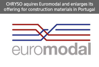 CHRYSO acquires Euromodal and enlarges its offering for construction materials in Portugal