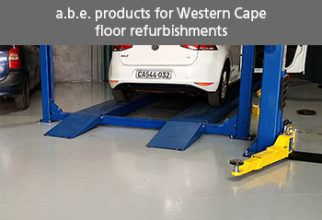 a.b.e. PRODUCTS FOR WESTERN CAPE FLOOR REFURBISHMENTS