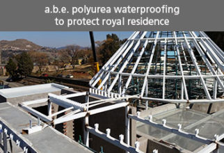 a.b.e. POLYUREA WATERPROOFING TO PROTECT ROYAL RESIDENCE