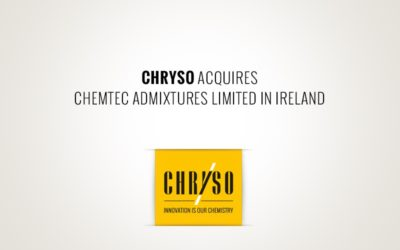 CHRYSO acquires CEMTEC admixtures Limited in Ireland