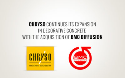 CHRYSO acquisition of BMC Diffusion, France