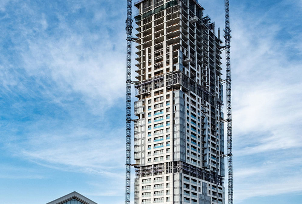 a.b.e. supplies renowned glazing products for Africa's tallest building